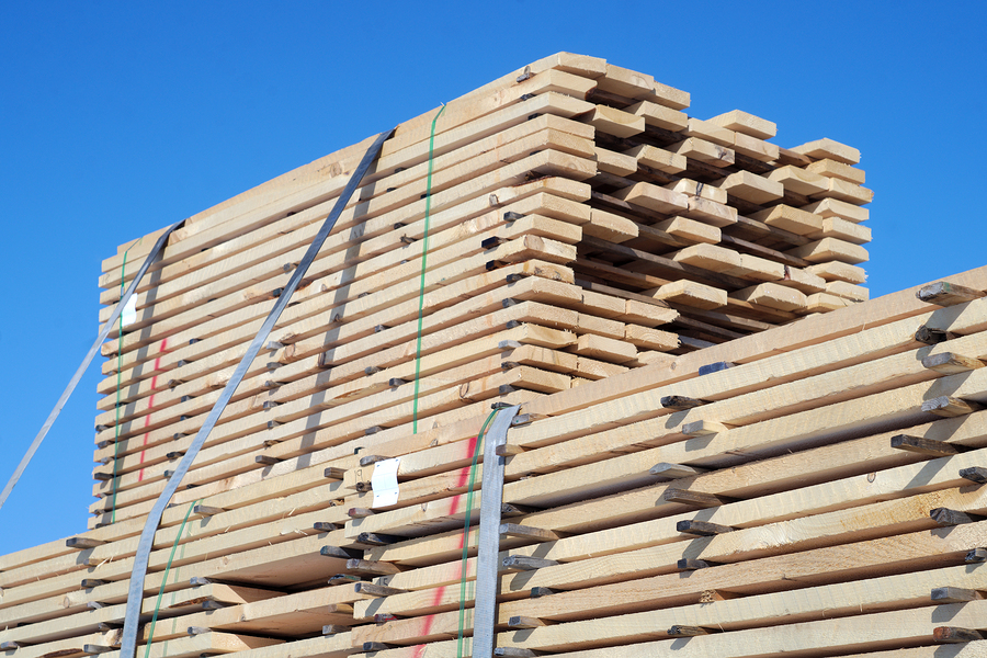 Lumber for construction