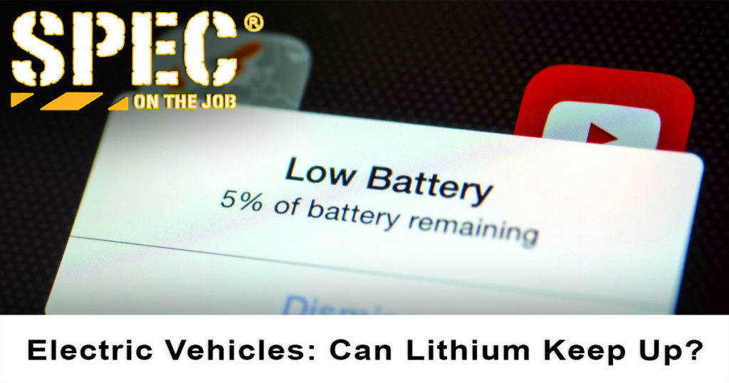 Low battery warning on a smartphone