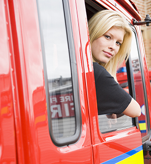 A solution to replacing retired truck drivers is to recruit more women into the industry