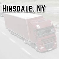 Hinsdale NY trucking crime blotter