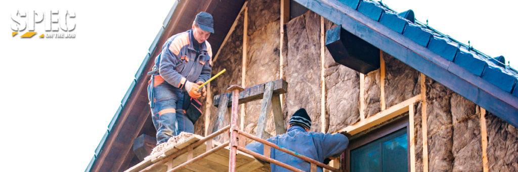 The top construction hazards include scaffolding