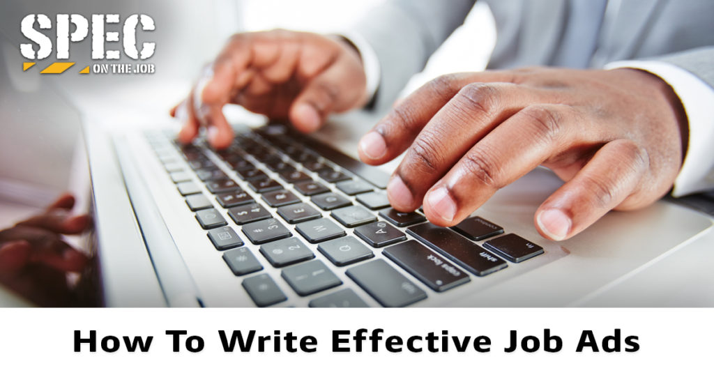Tips for writing effective job ads