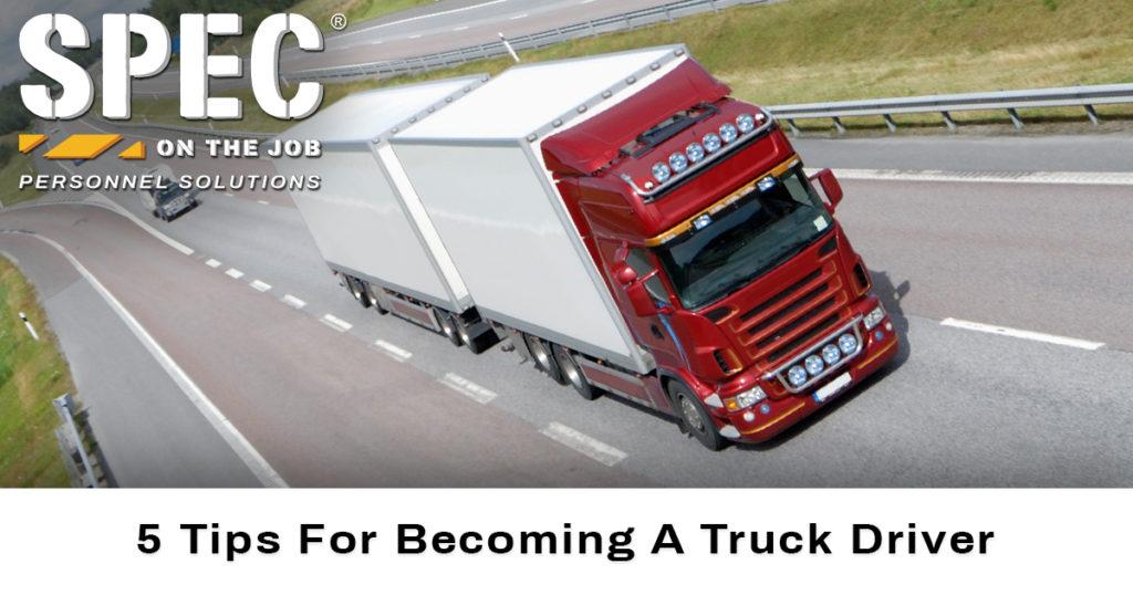 spec truck driver job