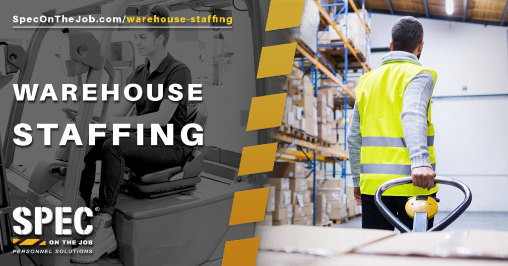 Spec On The Job warehouse staffing