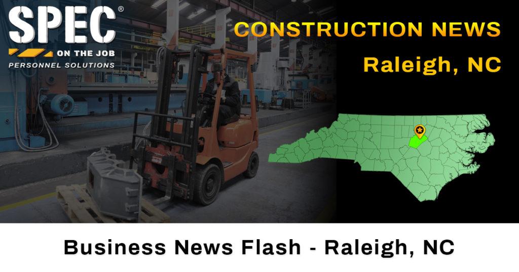 construction news Raleigh, NC