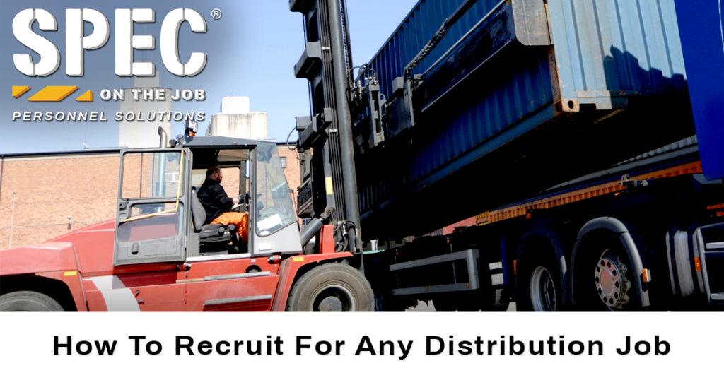 recruiting distribution jobs
