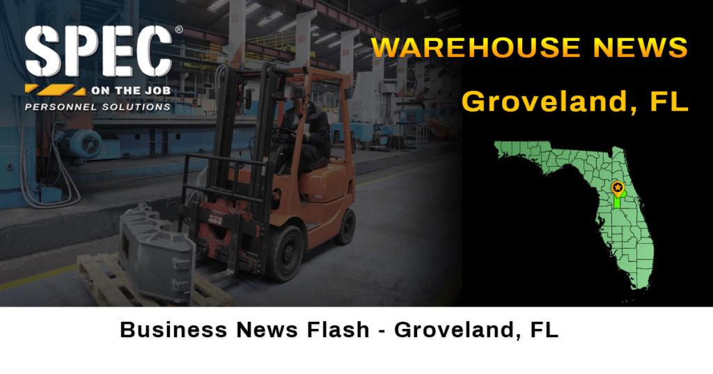 Groveland FL warehouse Kroger