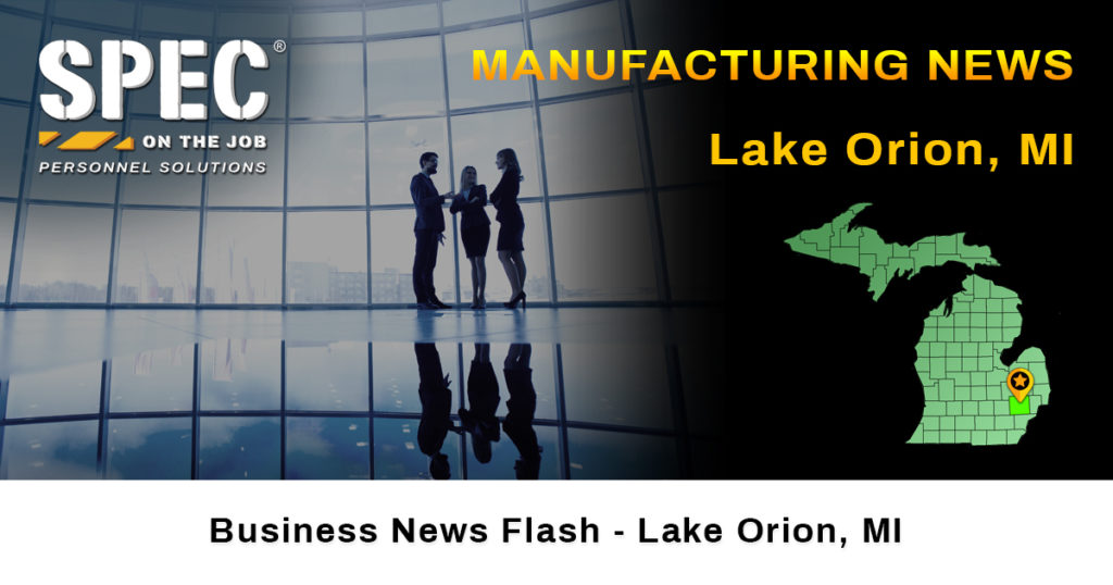 Lake Orion manufacturing news