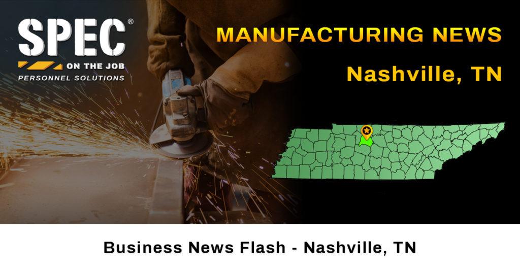 Nashville, TN manufacturing news