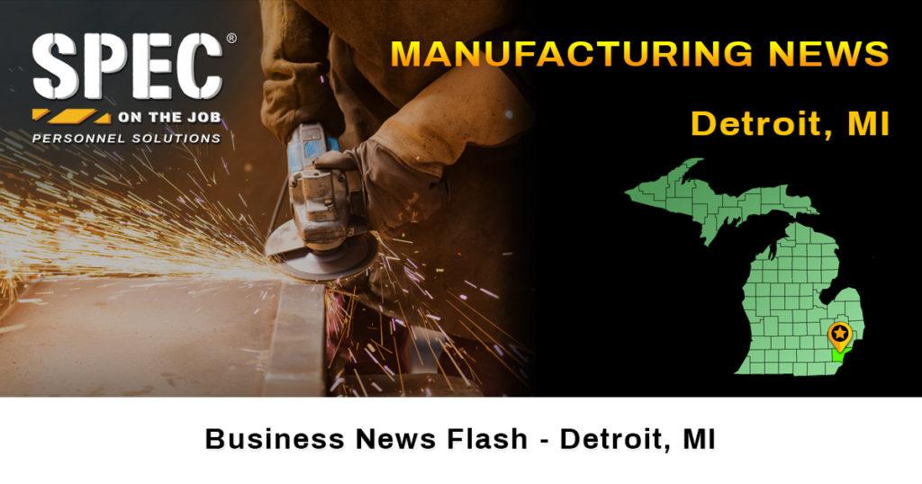 Detroit Michigan manufacturing