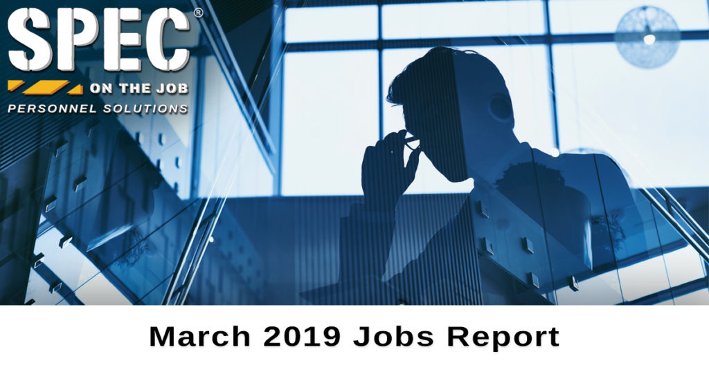 March 2019 jobs report