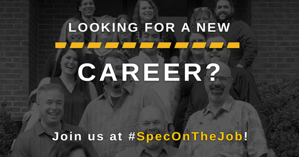 Spec On The Job hiring
