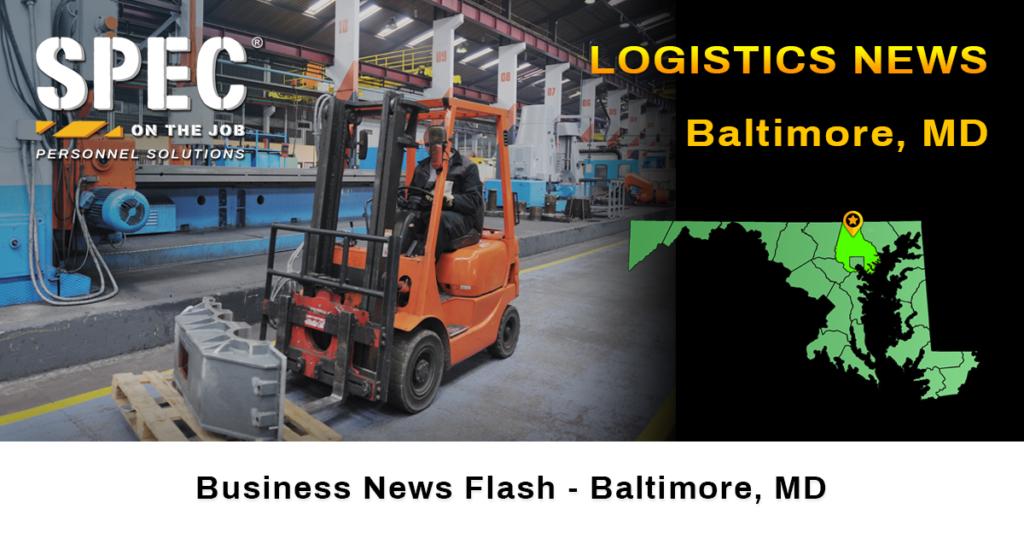 Baltimore logistics news