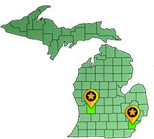 Kent County Wayne County Michigan
